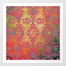 Mystic Coral Art Print