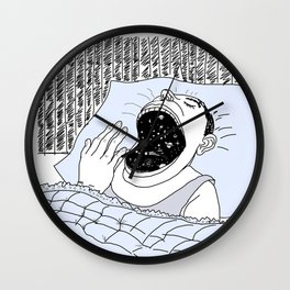 Man and the Cosmos . Home Decor Wall Clock