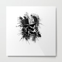 Storm Trooper (white) - Star Wars Metal Print