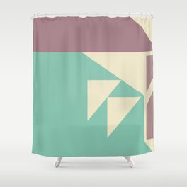 Metriks No.001 Shower Curtain