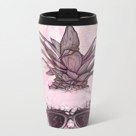 Pineapple 4 Metal Travel Mug