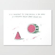 Watermelon Optimism Canvas Print