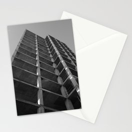 imposing structure Stationery Cards