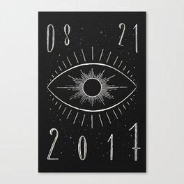 Total Eclipse (Dark) Canvas Print