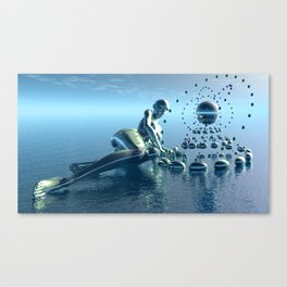 Sirens song Canvas Print