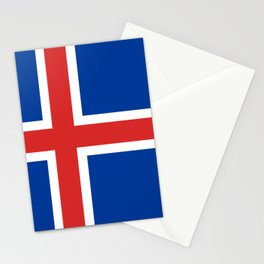 Flag: Iceland Stationery Cards