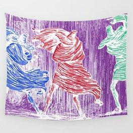 Three Assassins Wall Tapestry