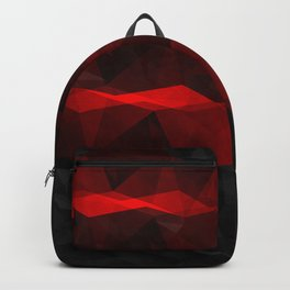 Pop of Red Backpack