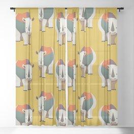 Rhinoceros Sheer Curtain