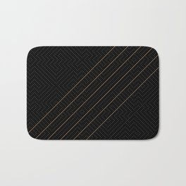 Artis 2.0, No.6 in Black & Gold Bath Mat