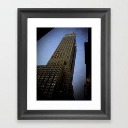 Empire State Building (NY) Framed Art Print