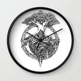 Paradise Tree Wall Clock