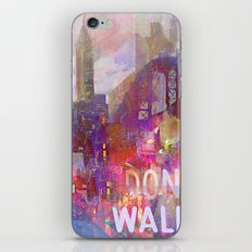 Snowstorm on the city iPhone & iPod Skin