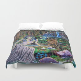 The Fountain loss Duvet Cover