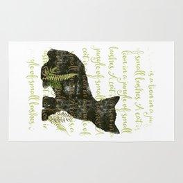 A cat is a lion.... Rug