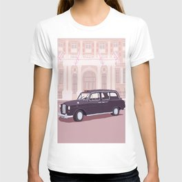 London Taxi Cab T-shirt