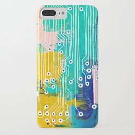 Chip Abstract iPhone Case