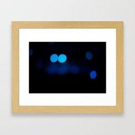 blur III Framed Art Print