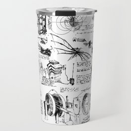 Da Vinci's Sketchbook Travel Mug