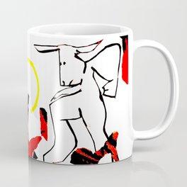 Minotaurtiptoe Coffee Mug