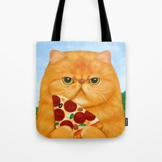 PIZZA FOR LUNCH Tote Bag