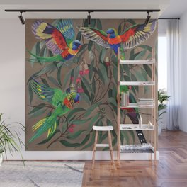 Birds of Paradise. Wall Mural