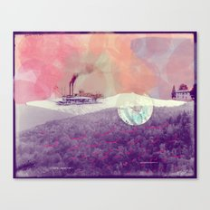 Basye River Poetry Canvas Print