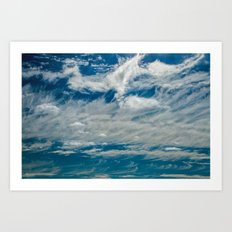 SIMPLY CLOUDS Art Print