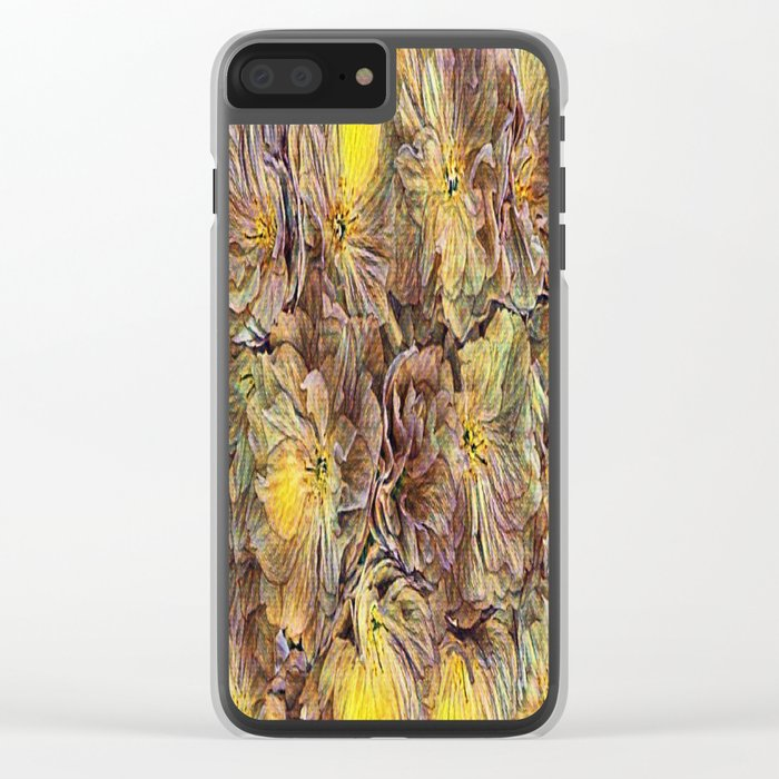 Flowers Galore - Painterly Clear iPhone Case