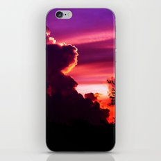 Blazing Sunset iPhone & iPod Skin