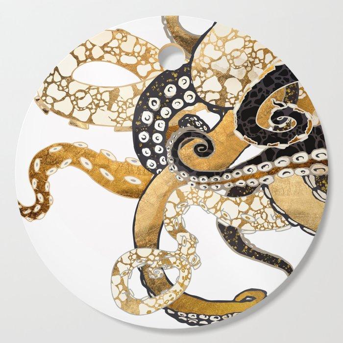 Metallic Octopus Cutting Board