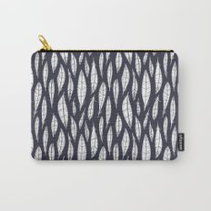 Quail Feathers (Midnight) Carry-All Pouch