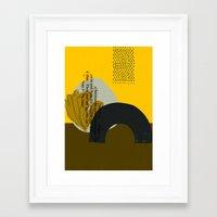 sand Framed Art Prints featuring Sand by Jasmine Sierra