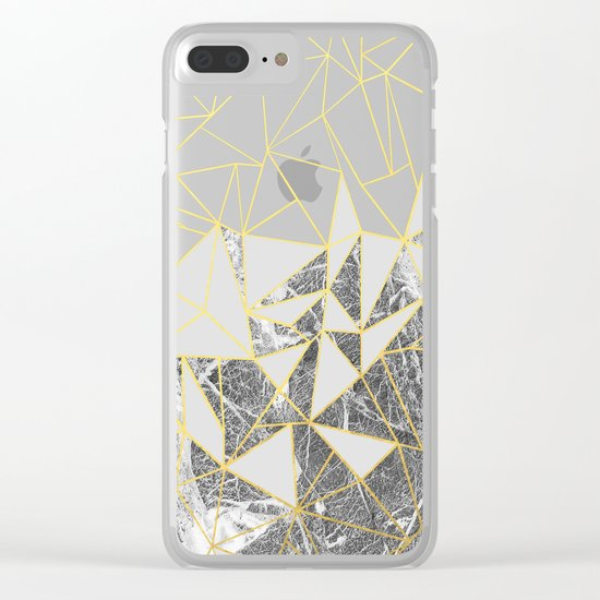 Ab Marb 2 Clear iPhone Case