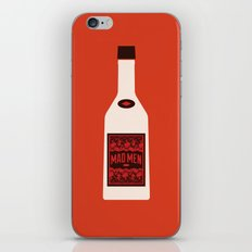 Bottle Mad Men iPhone & iPod Skin