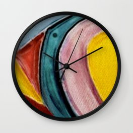 The Kandinsky's Chubby Bird 2 Wall Clock