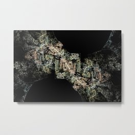 The Infinitely Squared Forest Metal Print