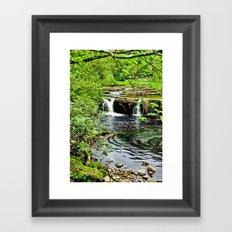 River Swale - Keld Framed Art Print