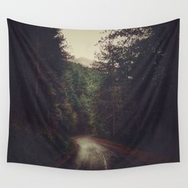 Wander inside the mountains Wall Tapestry