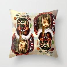 Expulsion from the Garden of Eden Throw Pillow