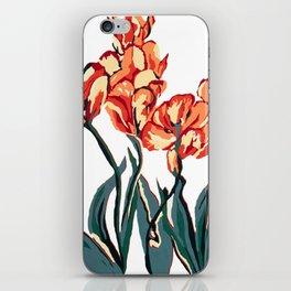 Tulip study 1 iPhone Skin