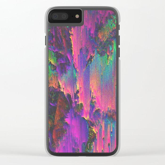 ACID Clear iPhone Case