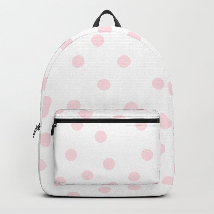 Simply Dots in Pink Flamingo Backpack