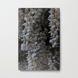 Cascading Flowers Metal Print