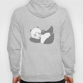 Panda says hi. Hoody