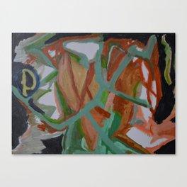 Heartosauron Canvas Print