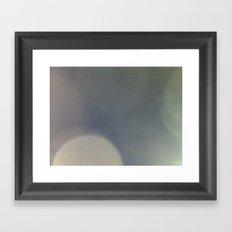 Flou Framed Art Print