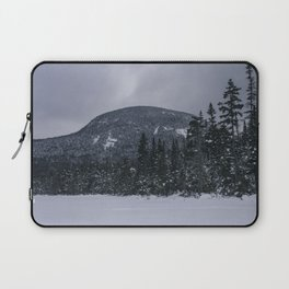 Winter at Lonesome Lake in the White Mountains Laptop Sleeve