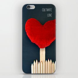 Cultivate Love iPhone Skin