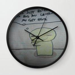 Ill Just Pretend Wall Clock